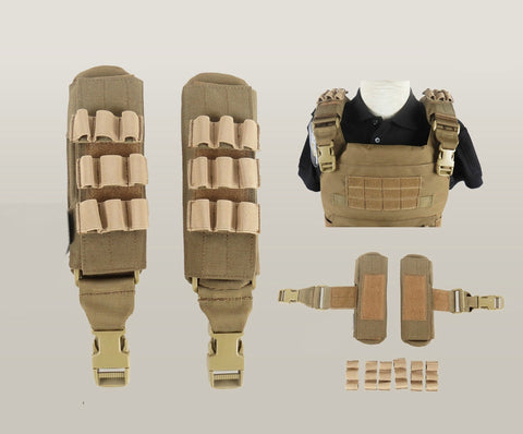 Tactical Molle Shoulder Strap Pad
