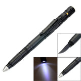 Tactical Pen With Glass Breaker/Knife/ Flashlight