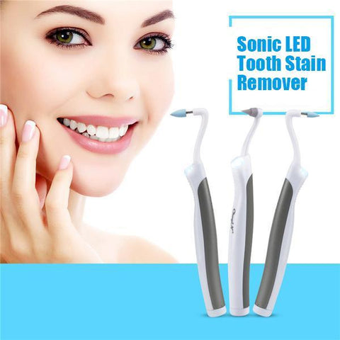 Ultra-Sonic Vibration Teeth & Gum Stain Remover