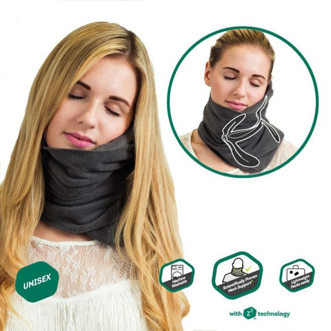 MyTravel-Buddy™ WrapAround 360-DEGREE Travel Pillow