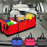 Car Trunk Organizer With a Cooler