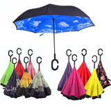 Bold Reversible C-Hook Umbrella