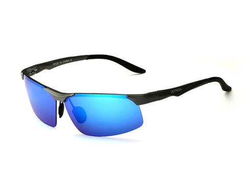 Magnesium Polarized Sunglasses - Indigo-Temple