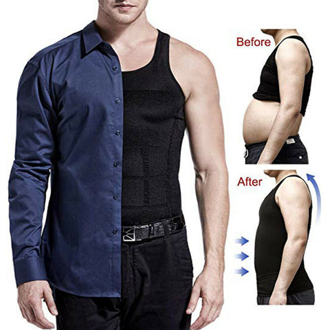 Men's Body Slimming Under-Vest