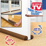 Door/Window Twin Draft Guard Ultimate (2-PACK)