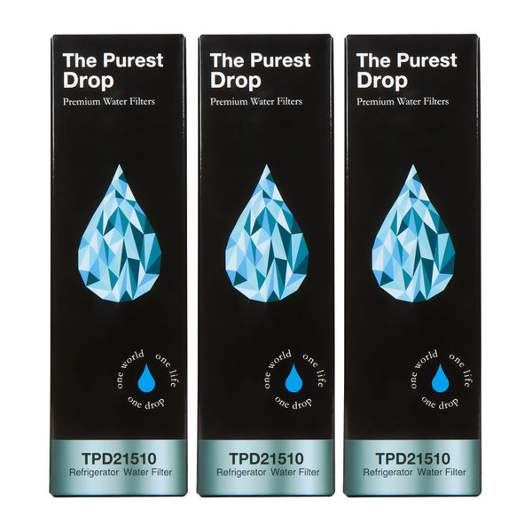 3 Pack The Purest Drop: Maytag UKF8001 Compatible Refrigerator Water Filter