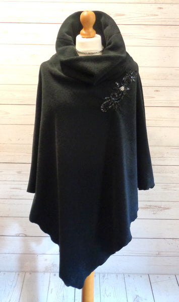 Luxury Designer Fleece Cape