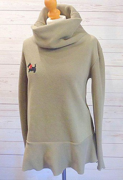 Luxury Designer Fleece Pullover