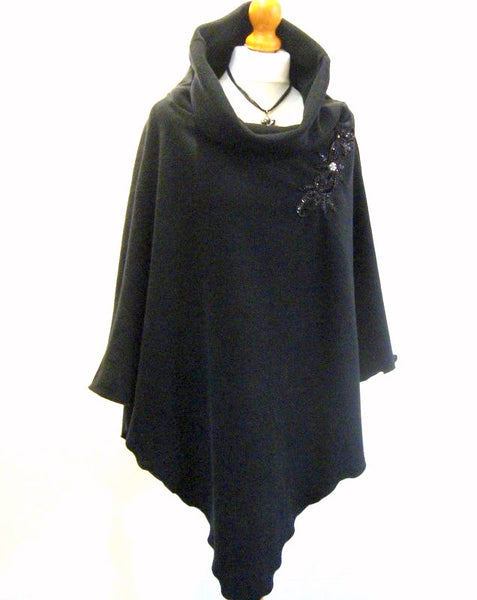 Luxury Fleece Cape
