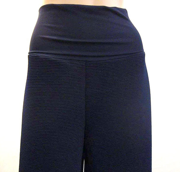 SOLD OUT Deep Waist Wide Leg Crop Trousers