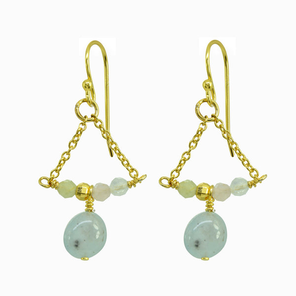 Playful Gems Quartz Earrings