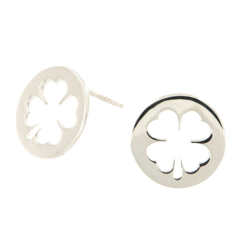 4Leaf Clover Out Studs - Shop Ludovica