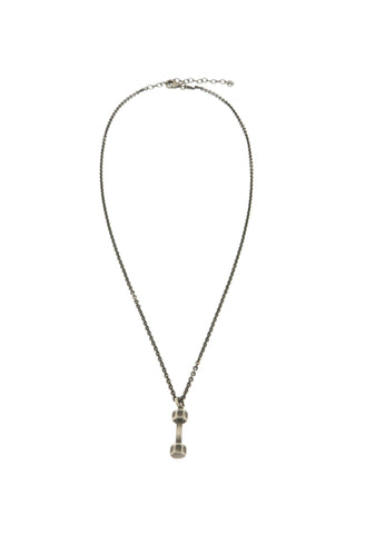 Vintage Dumb Bell Necklace - Shop Ludovica