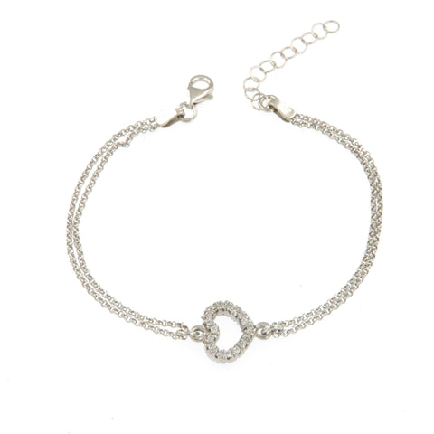 Lace Heart Bracelet - Shop Ludovica