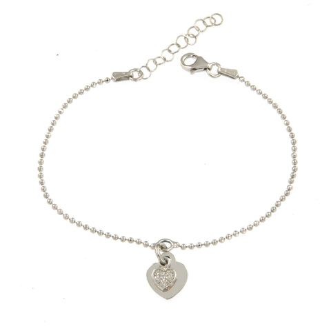 Heart on Heart Bracelet - Shop Ludovica