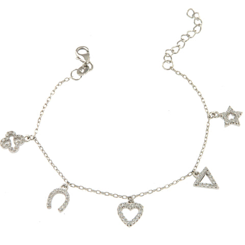 Good Luck 5 Charms Bracelet - Shop Ludovica