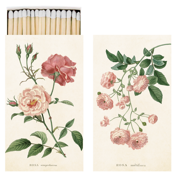 Match Box - Vintage Rose Pink Design