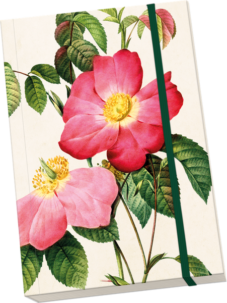 Note Book A5 - Vintage Rose Design