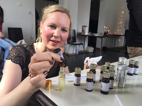 Natural Perfume & Aromatherapy - Hebden Bridge, August 2018.
