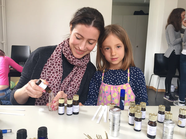 Natural Perfume Workshop - Surrey, August 2017