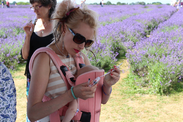 Natural Perfumery at Mayfield Lavender - by request