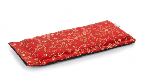 Feather Light Healing Eye Pillow - Flowers Red