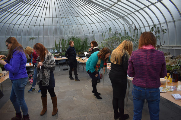 Plant to Perfume at Glasgow Botanic Gardens, Spring 2021
