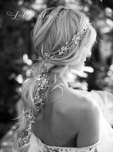 boho bride boho hair wedding hair accessory
