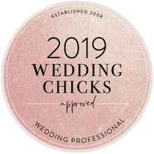 Wedding chicks badge 2019