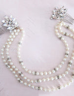 pearl wedding hair accessories vintage hair accessory