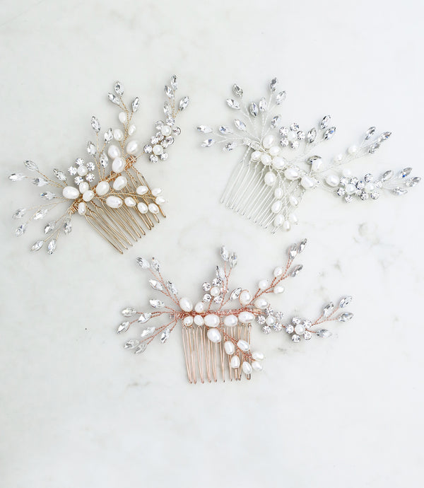 wedding hair comb bridal hair accessories