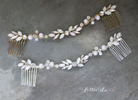 'HARMONY' Boho Headpiece Hair Vine Comb