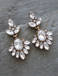 """ANGELICA"" Antique Gold Earrings"