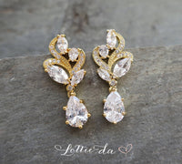 'ALLURA' Vintage Style Earrings