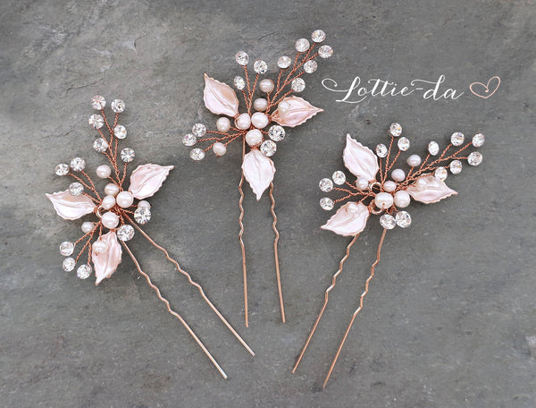 'POSY' Beaded Hair Pin
