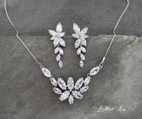 'IVY' Chandelier Crystal Earrings