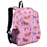 Wildkin Olive Kids Horses Sidekick Backpack