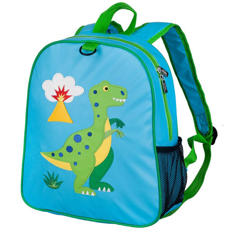 Wildkin Olive Kids Dinosaur Embroidered Backpack School Bag - Petit Fab Singapore
