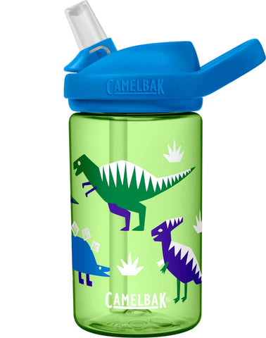 Camelbak Eddy+ Kids Spill-Proof Water Bottle 0.4L - Hip Dinos