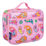 Wildkin Olive Kids Pink Paisley Lunch Box Bag [BPA-Free]