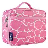 Wildkin Pink Giraffe Lunch Box Bag [BPA-Free]
