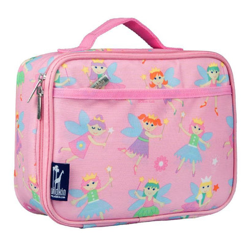Wildkin Olive Kids Fairy Princess Lunch Box Bag [BPA-Free]