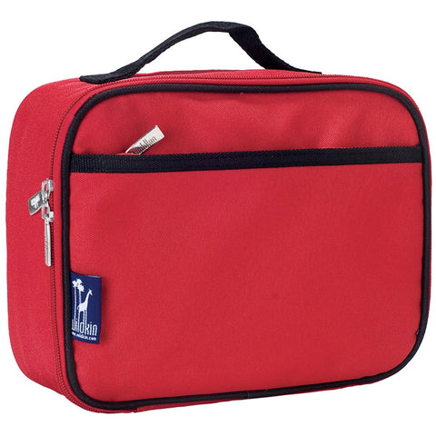 Wildkin Cardinal Red Lunch Box Bag [BPA-Free] - Petit Fab Singapore