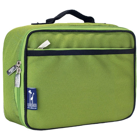 Wildkin Parrot Green Lunch Box Bag [BPA-Free] - Petit Fab Singapore