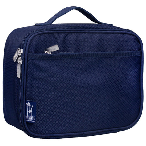 Wildkin Rip-Stop Blue Lunch Box Bag [BPA-Free] - Petit Fab Singapore