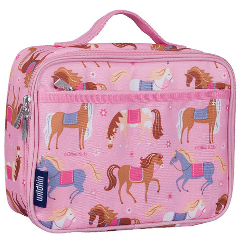 Wildkin Olive Kids Horses Lunch Box - Petit Fab Singapore