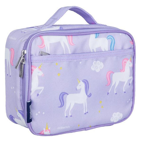 Wildkin Olive Kids Unicorns Lunch Box Bag [BPA-Free]