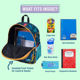 Wildkin Jurassic Giants Pack 'n Snack Backpack - Petit Fab