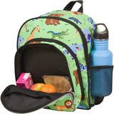 Wildkin Olive Kids Wild Animals Pack 'n Snack Backpack - Petit Fab Singapore