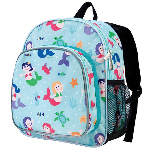 Wildkin Olive Kids Mermaids Pack 'n Snack Backpack - Petit Fab Singapore